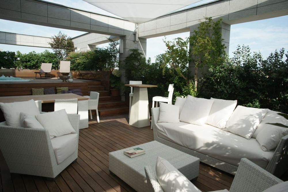 Preventivi architetti roma milano napoli torino online for Arredo terrazzo napoli